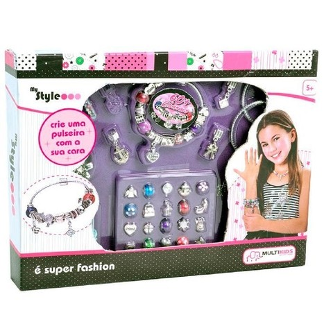 My Style Beauty Charms - Pulseiras e Colares - Multikids