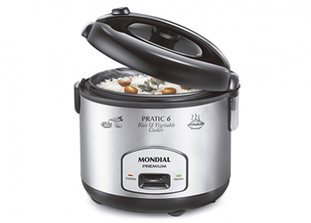 Panela Elétrica Pratic Rice & Vegetables Cooker 6 Premium PE