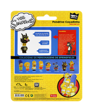 Pen Drive 8GB Multilaser - Simpsons Coçadinha PD077 - Safari Magazine