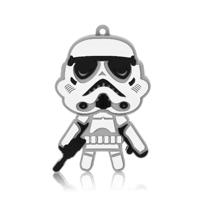 Pendrive Stormtrooper 8GB Multilaser- PD039