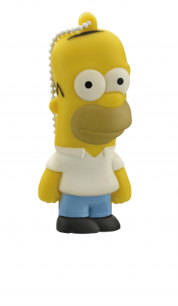 Pendrive The Simpsons Homer 8GB Multilaser PD070 - comprar online