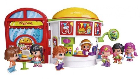 Pinypon Hamburgueria Multikids