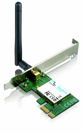 Placa de Rede Multilaser Wireless PCI-E 150Mbps RE029