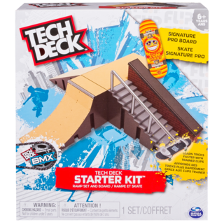 Rampa Skate de Dedo Tech Deck - Starter Kit - Multikids
