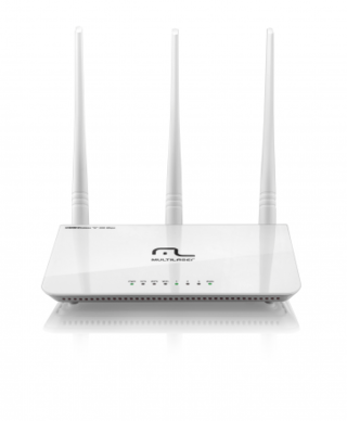 Roteador Multilaser Wireless 300Mbps 2.4GHz 3 Antenas 5dBi R