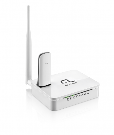 Roteador Multilaser Wireless 3G 150 Mbps 1 Antena - RE072