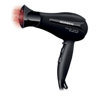 Secador Power Shine Black 220V Mondial - SC-13