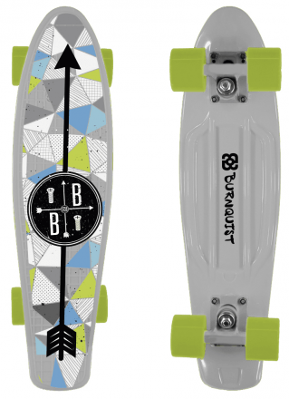 Skate Mini Cruiser Bob Burnquist Es091 - Multilaser