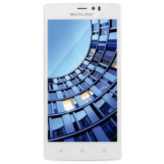Smartphone Multilaser Ms60 Colors Dual P9006 Branco + 2 Capa - Safari Magazine