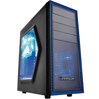Gabinete Gamer Multilaser Warrior 03 Cooler C/ Led - GA134