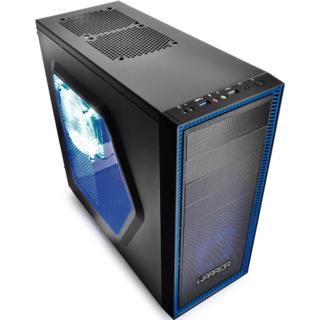 Gabinete Gamer Multilaser Warrior 03 Cooler C/ Led - GA134 - comprar online