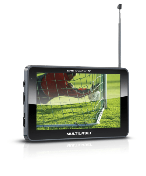 GPS Multilaser 5.0 Polegadas Touchscreen c/ TV digital + FM