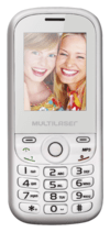 Celular Multilaser Up Dual Chip, C/ Camera, MP3, Radio FM e