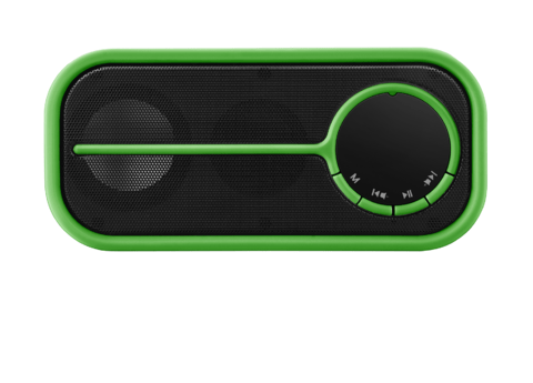 Caixa de som Bluetooth pulse color verde - SP208