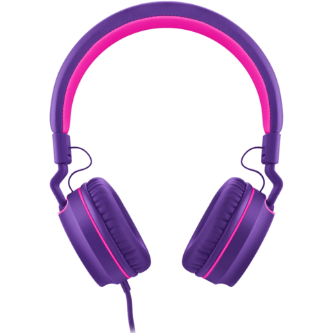 Headphone Pulse On Ear Stereo Rosa/Roxo - PH161