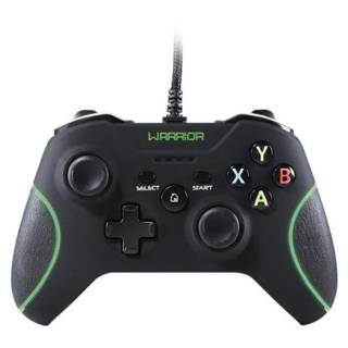 Controle PC Xbox 360 Warrior JS079 - Multilaser