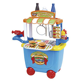 Creative Funfood Truck Hamburger Multikids BR579