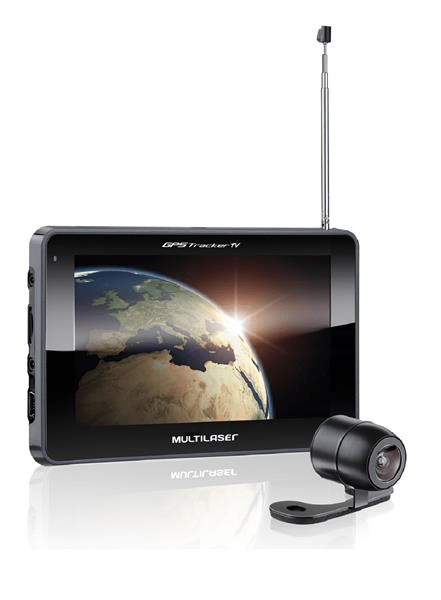 Gps Tracker III 7 C/ Cam De Re + Tv + Fm Multilaser - Gp039