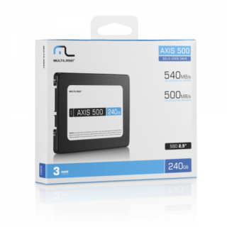 Ssd Axis 500 240GB Multilaser - SS200 - Safari Magazine