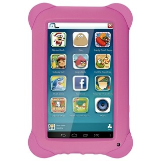 Tablet Kid Pad Quad Core Rosa - Nb195