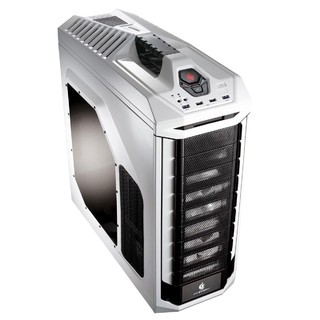 Gabinete Cooler Master Full-Tower Stryker Branco C/ Lateral em Acrilico - SGC-5000W-KWN1