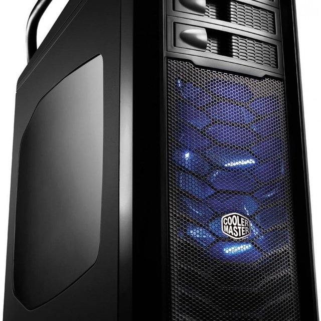 Gabinete Cooler Master Full-Tower Cosmos SE Preto C/ Lateral em Acrilico - COS-5000-KWN1 - Married Games