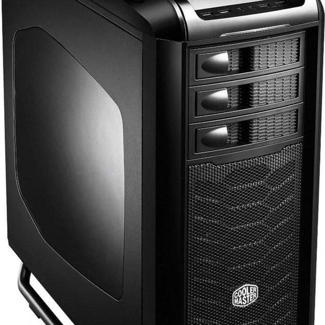 Gabinete Cooler Master Full-Tower Cosmos SE Preto C/ Lateral em Acrilico - COS-5000-KWN1 - loja online