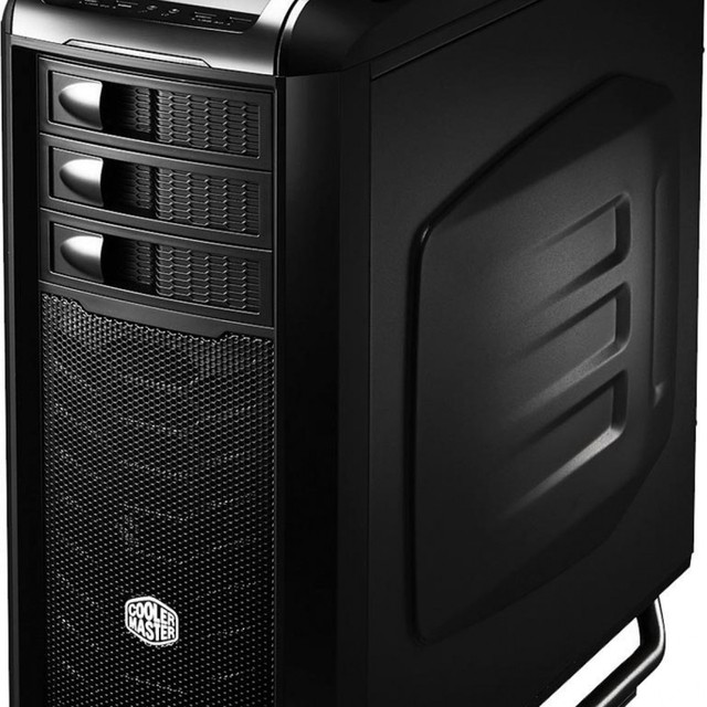 Gabinete Cooler Master Full-Tower Cosmos SE Preto C/ Lateral em Acrilico - COS-5000-KWN1 - comprar online