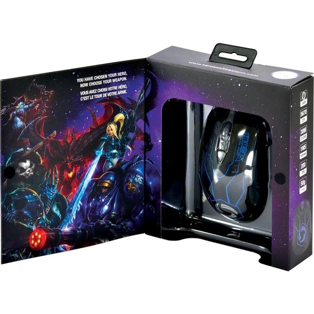 Mouse Gamer SteelSeries Heroes Of The Storm - 62169 na internet