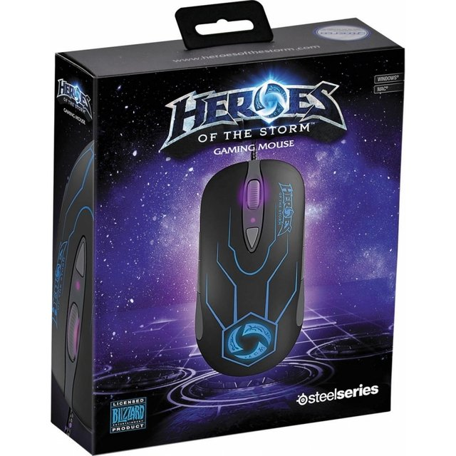 Mouse Gamer SteelSeries Heroes Of The Storm - 62169 - comprar online
