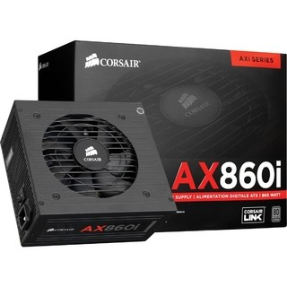 Fonte Corsair 860W AX860I Full-Modular Digital 80 Plus Platinun - CP-9020037-WW