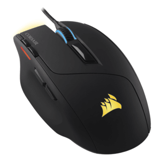 Mouse Corsair Optico Sabre RGB 10000DPI Optico Preto - CH-9303011-NA