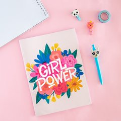 Libreta grande girl power