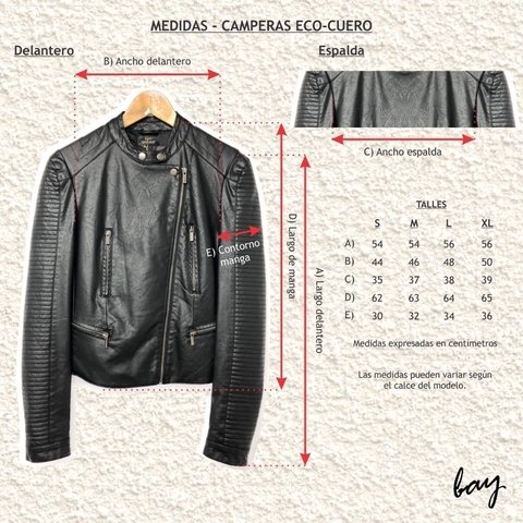 CAMPERA BENARES / BAY30184 en internet