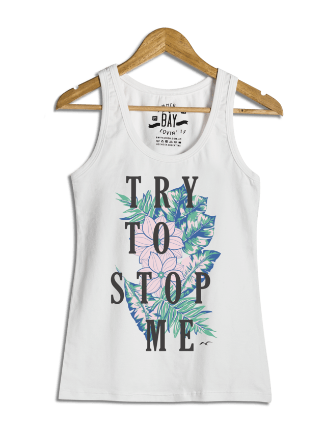 Musculosa Try to stop me / BAY 16048
