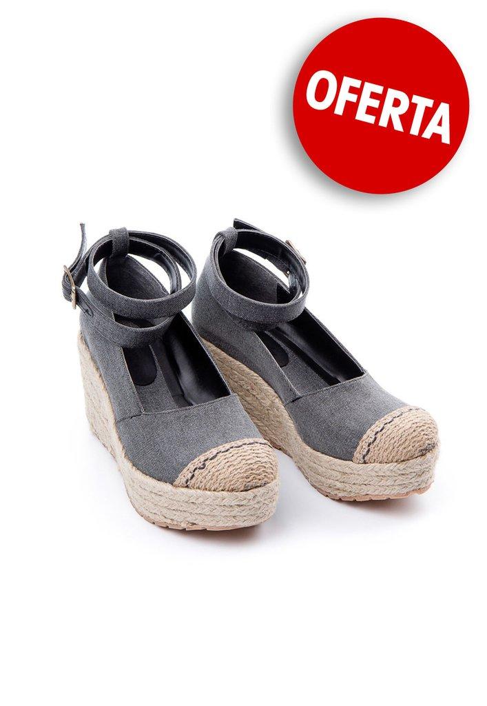 0d30ca91f970a Camila.- Guillermina taco chino Negro - Rosevelt Shoes