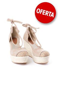 c15503adb80f0 Lola .- Sandalia taco chino Crudo - Rosevelt Shoes