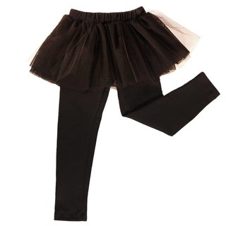 Tutu leggings, super chic. elasticized cotton and the tutu of different tulle. volume and good quality. It is a garment very easy to use and combine. An irresistible basic.