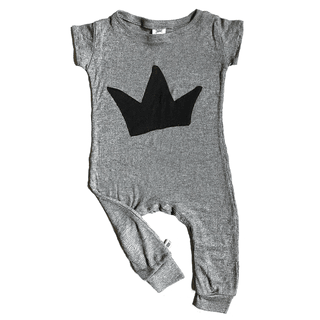 BABY overall with crown