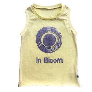IN BLOOM sleeveless t-shirt