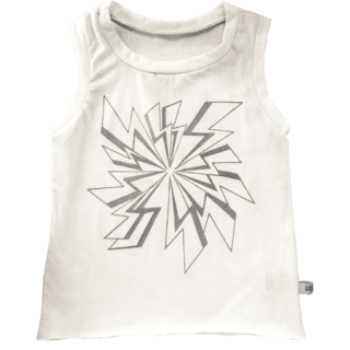 BOWIE sleeveless t-shirt