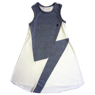 gray BOWIE dress