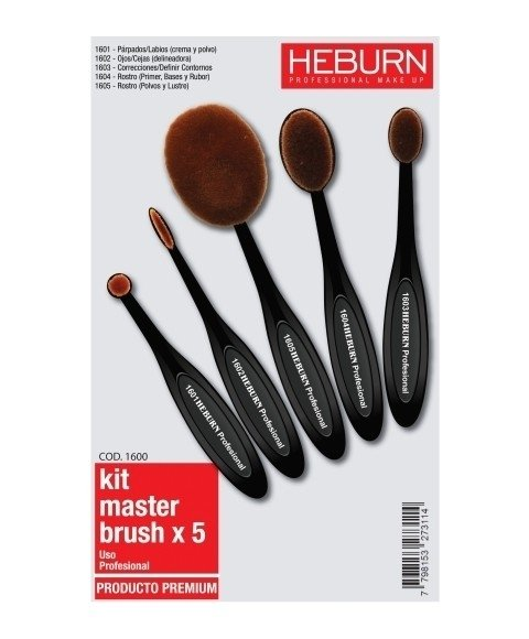 KIT MASTER BRUSH X 5