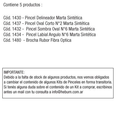 KIT SYNTHETIC SMALL X 5 - comprar online