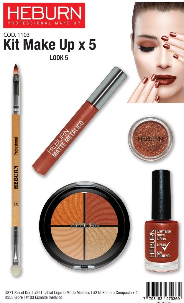 KIT MAKE UP X 5 - tienda online
