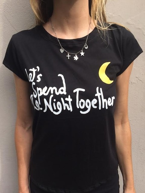 Remera Skater Let's Spend The Night