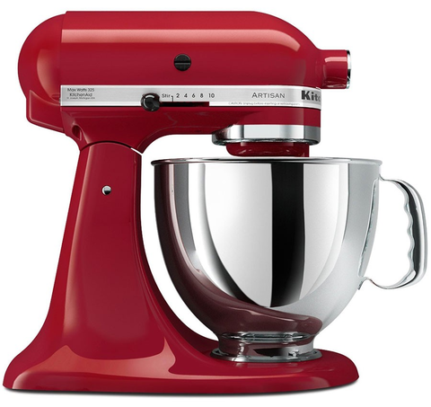 BATIDORA KITCHEN AID ROJA