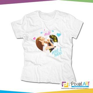 54c2a65a57b9d Camiseta Personalizada Dia das Mães