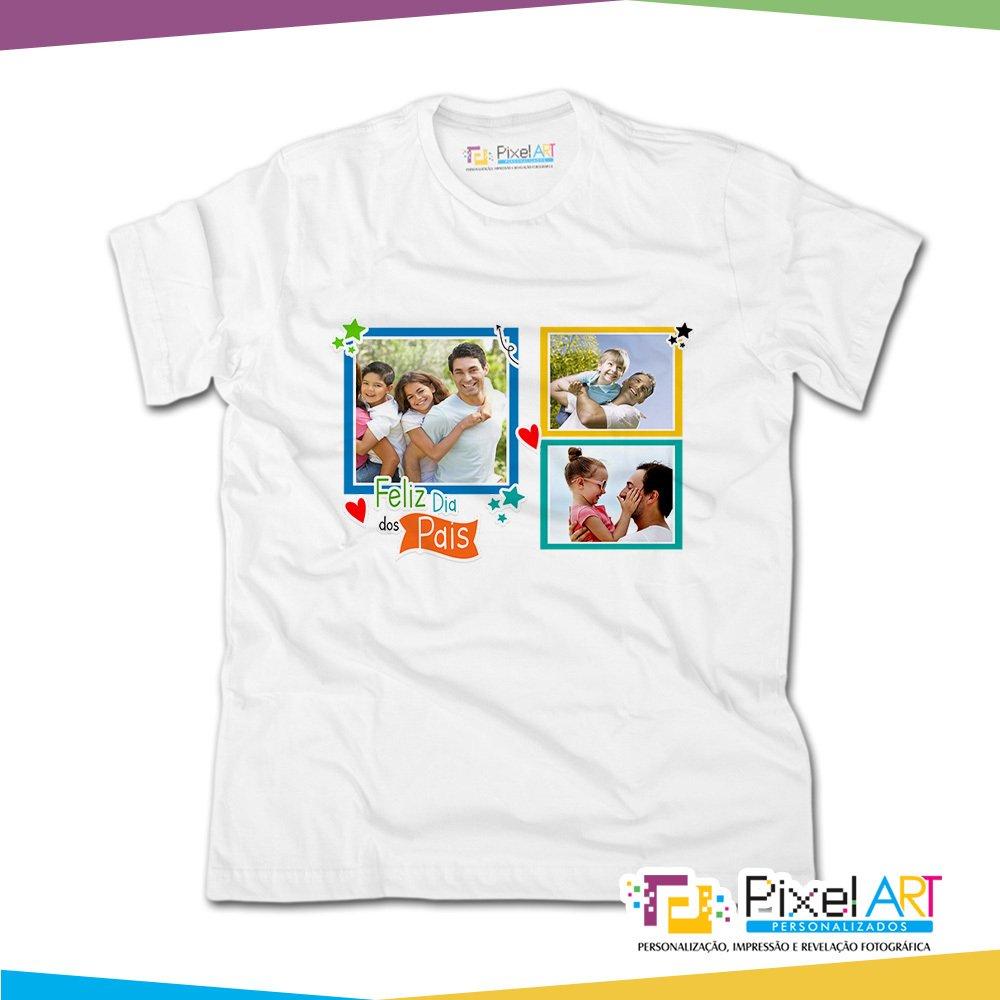 c6246ecdd Camiseta Personalizada Dia dos Pais