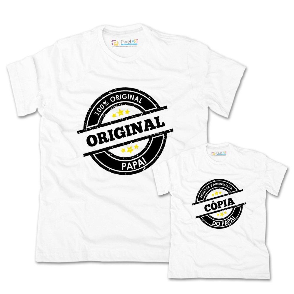 268873bf88430a Camisa Tal Pai Tal Filho Original e Copia   Pixel Art Personalizados
